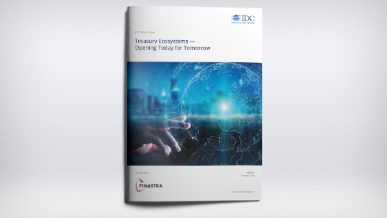 White Paper: Treasury Ecosystems - Opening Today for Tomorrow