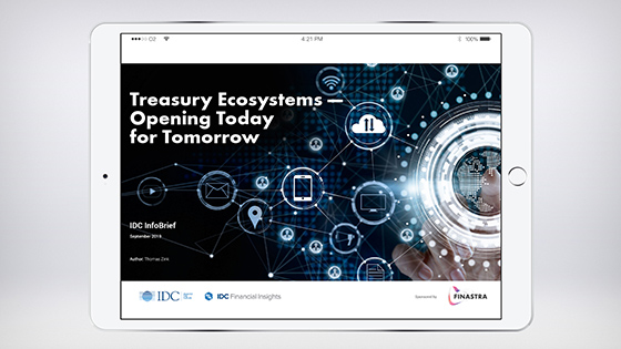 Treasury Ecosystems - Opening Today for Tomorrow - Infobrief