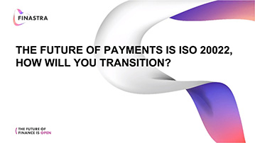 The future of payments is ISO 20022