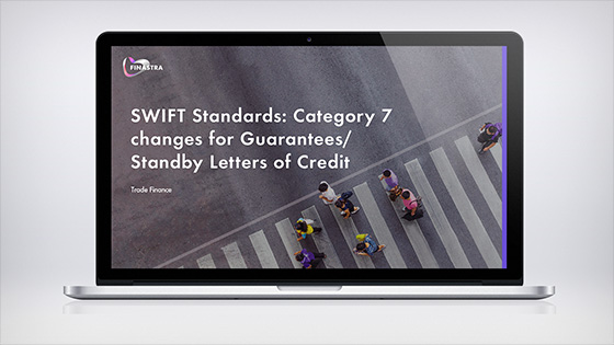 SWIFT Standards: Category 7 changes for Guarantees/Standby Letter of Credit