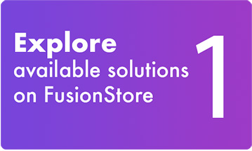 1 - Explore available solutions on FusionStore