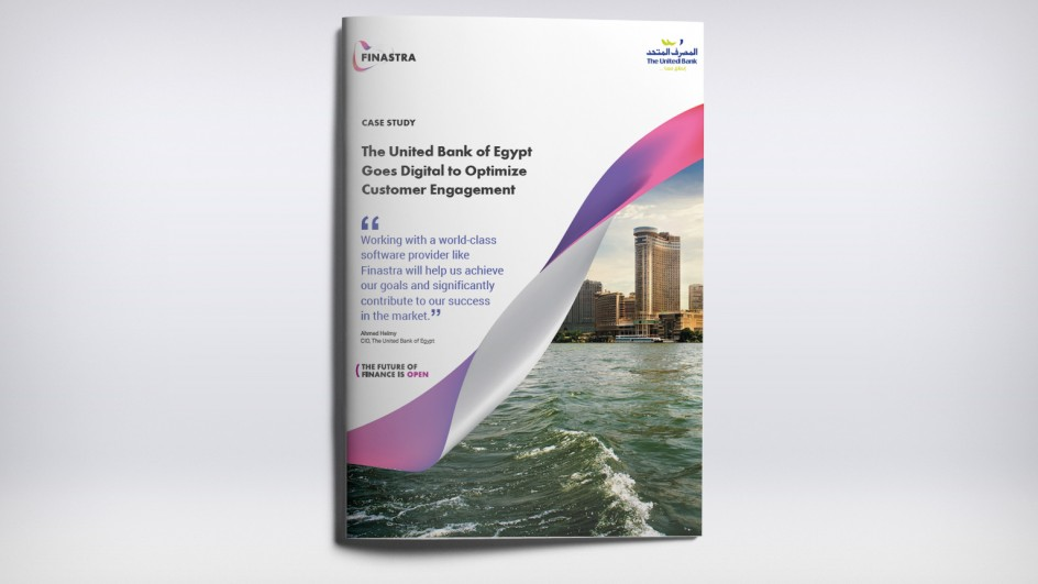 The United Bank of Egypt Goes Digital to Optimize Customer Engagement