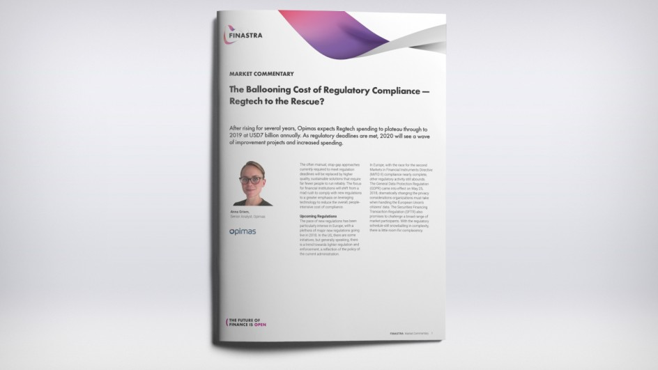 The Ballooning Cost of Regulatory Compliance