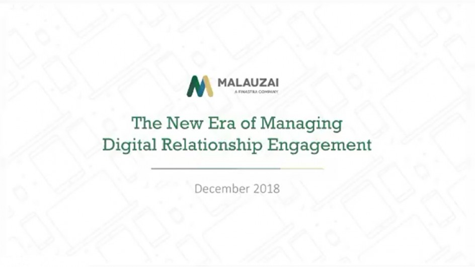 The New Era of Managing Digital Relationship Engagement