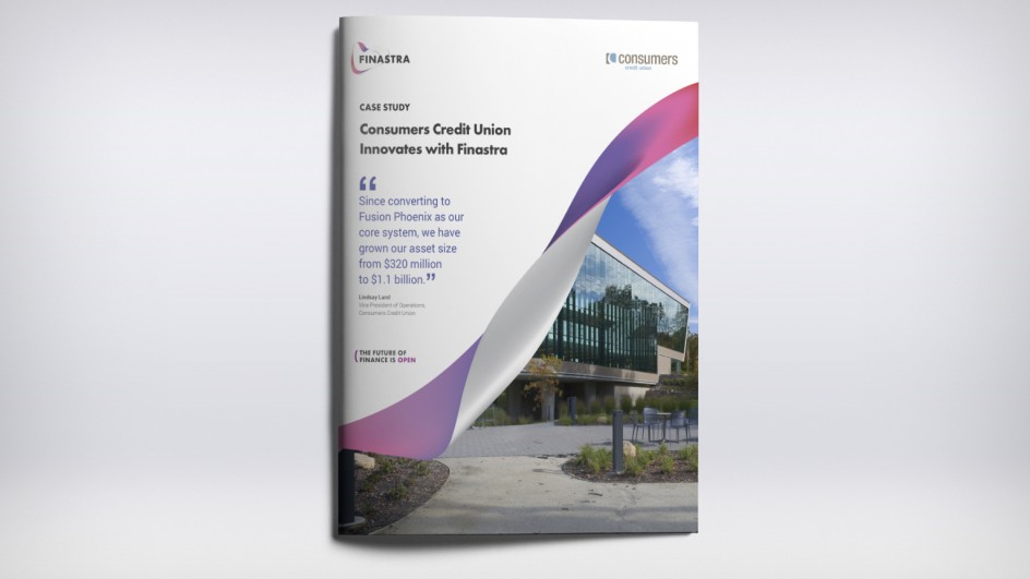 Consumers Credit Union Innovates with Finastra