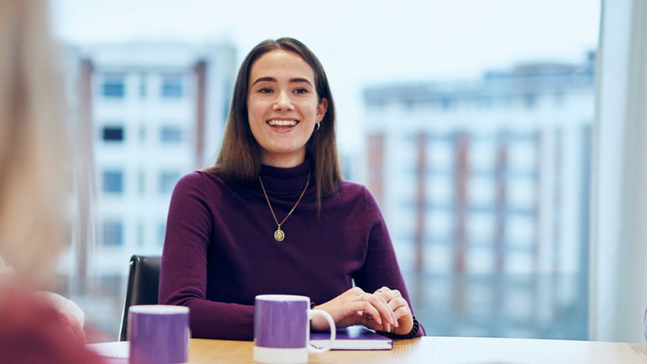 Maddie, Corporate Social Responsibility Associate, talks about her role in Finastra's Environment mission