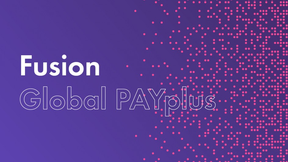 Fusion Global PAYplus
