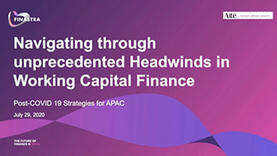 Navigating through unprecedented headwinds in Working Capital Finance