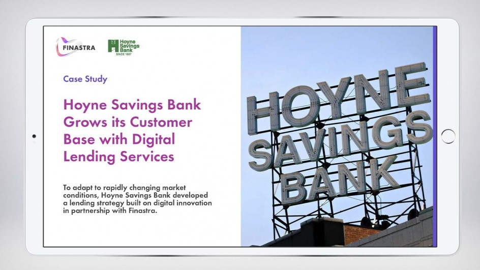 Hoyne Savings Bank Grows its Customer Base with Digital Lending Services