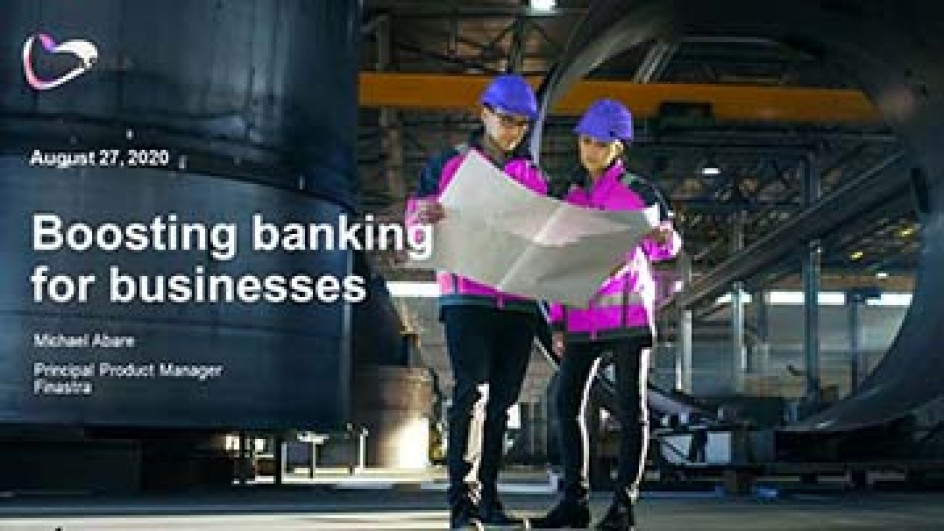 Boosting banking for businesses