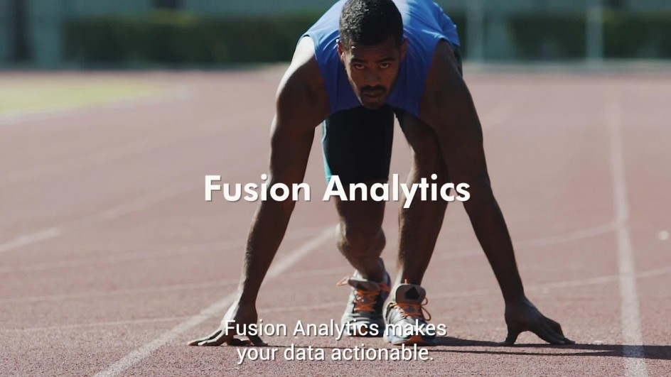 Fusion Analytics makes your data actionable