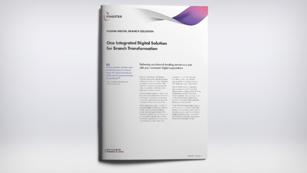 Fusion Digital Branch Solution (Factsheet)