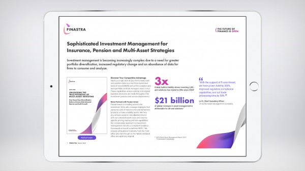 Sophisticated Investment Management for Insurance, Pension and Multi-Asset Strategies