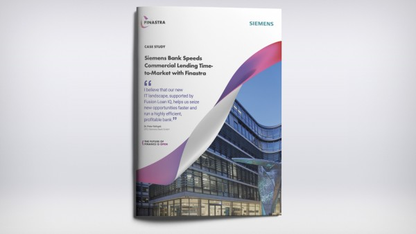 Siemens Bank Speeds Commercial Lending Time-to-Market with Finastra