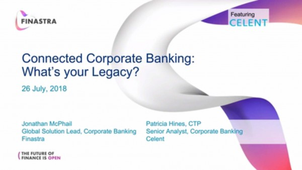 Webinar: What will be your corporate banking legacy?