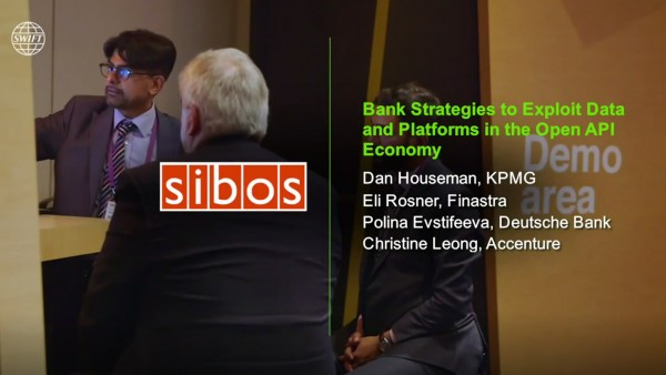 BrightTALK @ Sibos 2018: [Panel] Bank Strategies to Exploit Data and Platforms in the Open API Economy