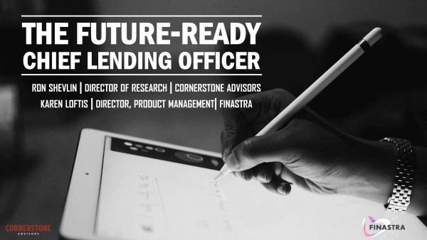 The Future-Ready Chief Lending Officer