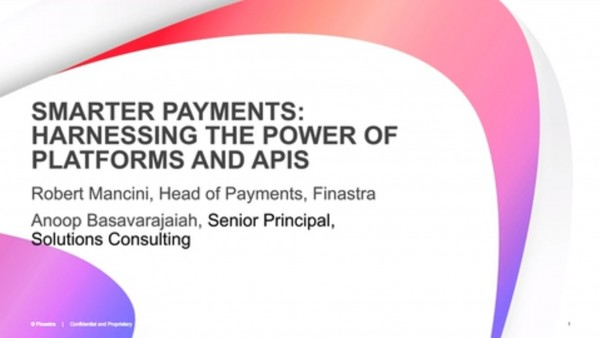 Smarter Payments Harnessing the Power of Platforms and API's