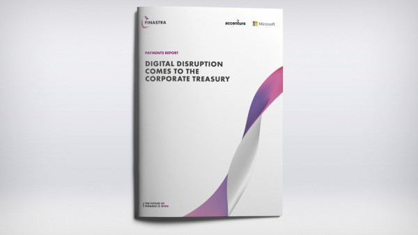 Payments report: Digital Disruption comes to the Corporate Treasury