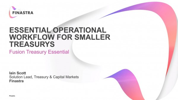 Essential Operational Workflow for Smaller Treasuries