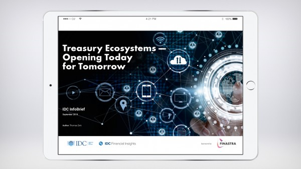 IDC Infobrief: Treasury Ecosystems - Opening Today for Tomorrow