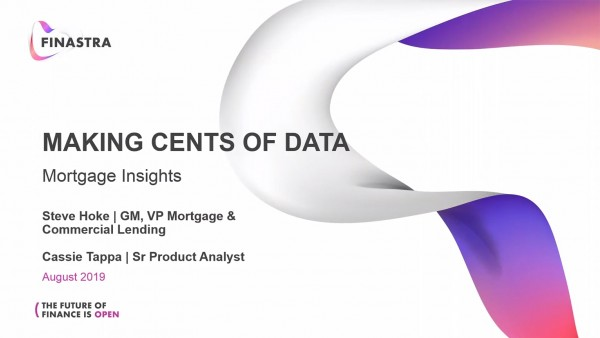 Making Cents Out of Data: Mortgage Insights