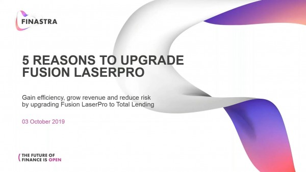 5 Reasons to Upgrade Fusion LaserPro