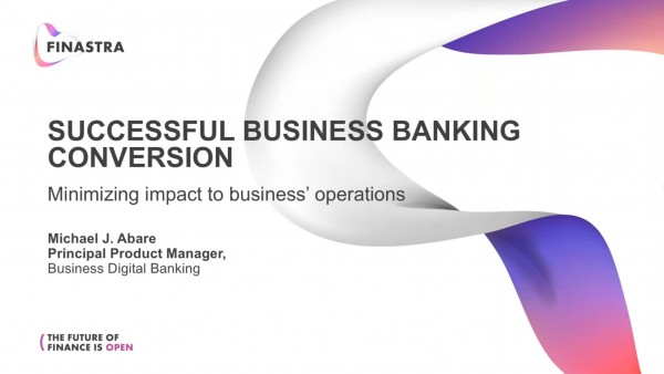 Successfully Converting Your Business Banking
