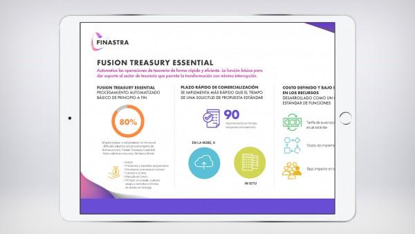 Fusion Treasury Essential (Infographic) [Spanish]