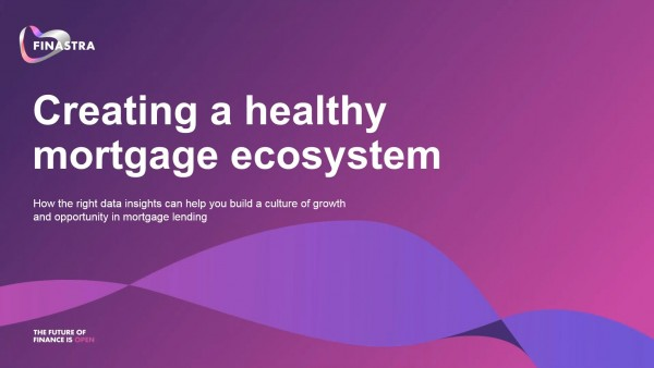 Creating a Healthy Mortgage Lending Ecosystem