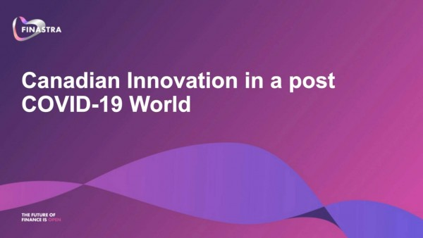Canadian Innovation in a post COVID-19 World