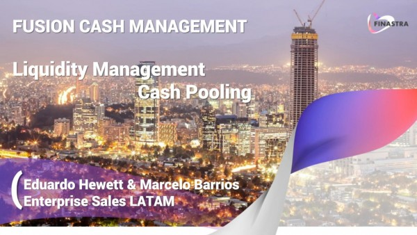 Liquidity management - Cash pooling (Spanish)