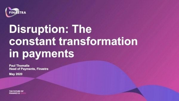 Transformation in payments