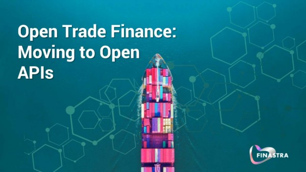Open trade finance: Moving to open API's