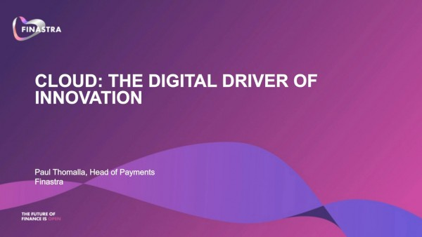 Cloud the digital driver of innovation