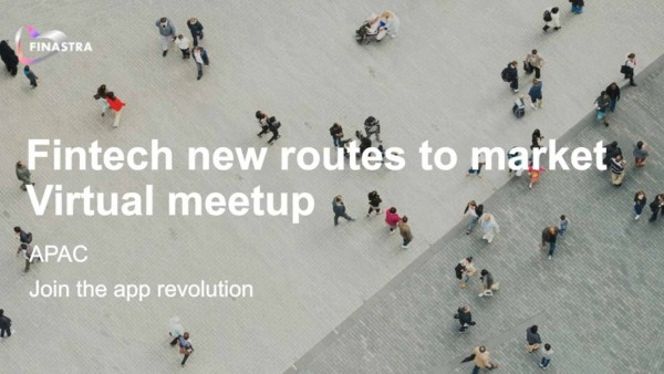 Fintech new routes to market virtual meetup