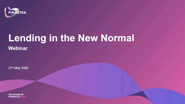 Lending in the New Normal