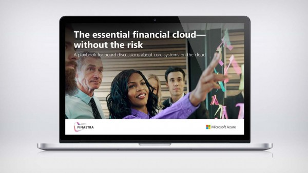 The essential financial cloud — without the risk
