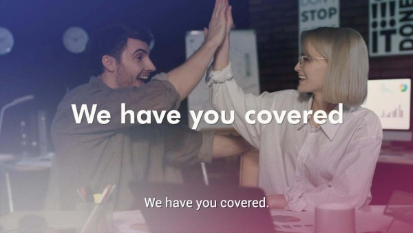 We have you covered