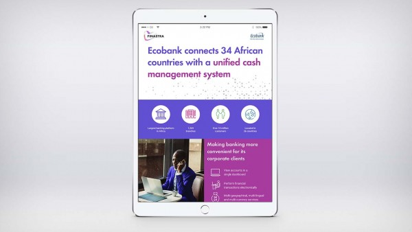 Ecobank connects 34 African countries with a unified cash management system (Infographic)