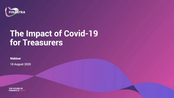 The impact of COVID-19 for treasurers