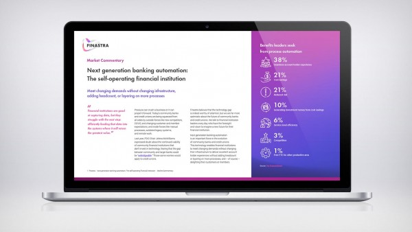 Next generation banking automation: The self-operating financial institution