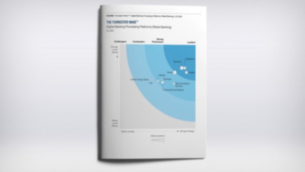 The Forrester Wave analysis establishes the leaders in retail digital banking platforms