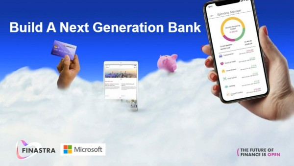 Building the Next-Generation Bank title slide