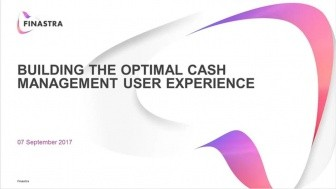 Building the Optimal Cash Management User Experience