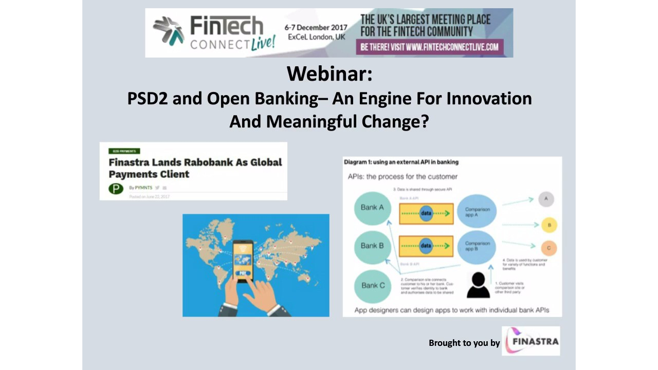 PSD2, Open Banking and APIs – An Engine for innovation and meaningful change?