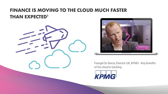Finance is Moving to the Cloud Much Faster Than Expected