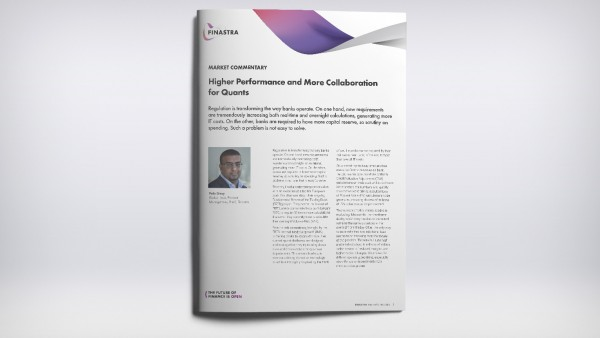 Higher Performance and more Collaboration for Quants