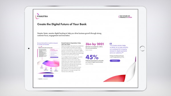 Smarter Digital Banking (Market brief)