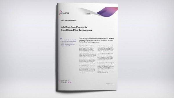 US Real-time Payments Cloud Test Factsheet